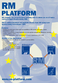 Flyer for platform promotion. Get a A1 poster free on request.